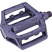 Wellgo 9/16' LU313 Alloy Sealed Platform BMX/ATB Pedal - Silver