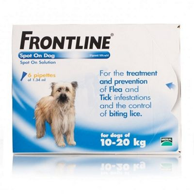 Frontline Spot On (Medium Dog 10-20kg) [6 pack]