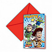Toy Story Star Power 6 Pack Party Invitations Accessories