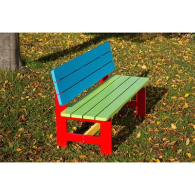BrackenStyle Painted Primary School Bench