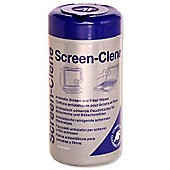 AF Screen-Clene Anti-Static Cleaning Wipes (Tub Dispenser)