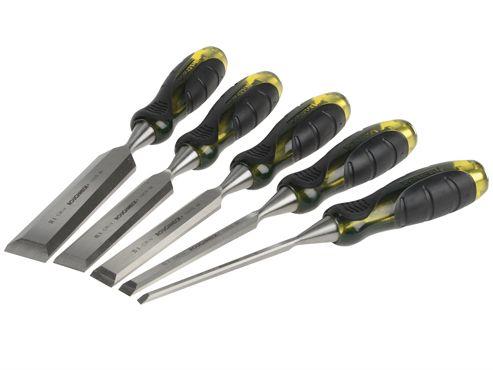 Roughneck Professional Bevel Edge Chisel Set of 5: 6, 13, 19, 25 & 32mm