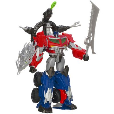 Transformers Optimus Prime Beast Hunter