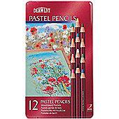 Derwent Pastel Pencil Tin 12