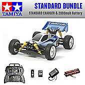 TAMIYA Neo Scorcher 4WD Buggy RC Car Standard Bundle 58568