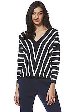 Only Striped Knitted Jumper - Multi