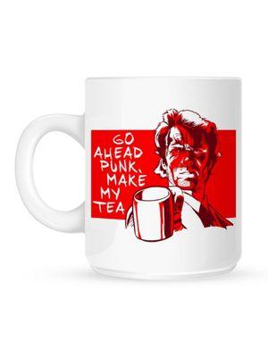 Go Ahead Punk, Make My Tea 10oz Ceramic Mug