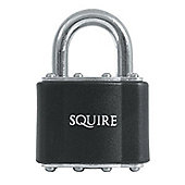 Squire 30 Series Laminated Padlocks - 48mm KD Long Shackle Visi