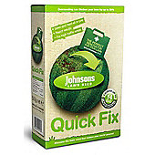 Lawn Seed Fertilizer Johnsons Lawn Feed - Quick Fix With Growmore - 500g Carton