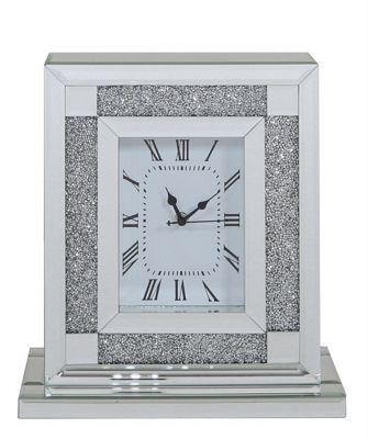 Antique Mirror Table Clock