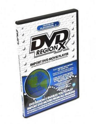 DVD Region X - PS2