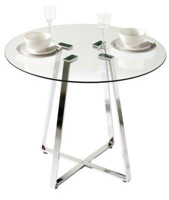 Premier Housewares Metropolitan Round Dining Table