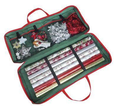 Christmas Corner Gift Wrap Storage Bag 82 x 34 x 13 cm