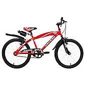 """Hacker Boys 20"""" Wheel Mountain Bike Red"""