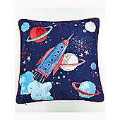 Star Ship Reversible Cushion