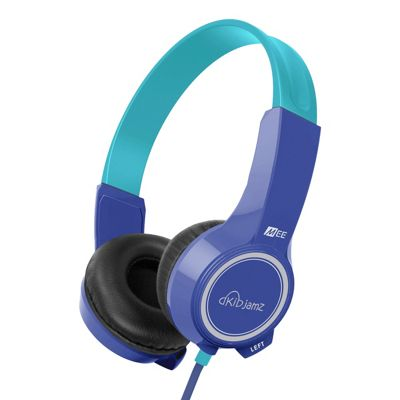 KidJamz KJ25 Safe Listening Headphones for Kids with Volume-Limiting Technology - Blue