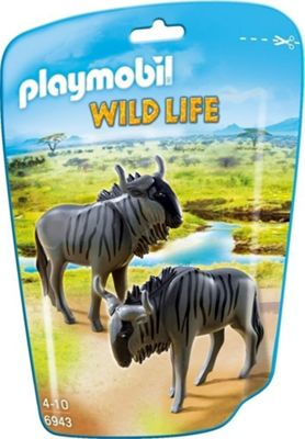 Playmobil Wildebeests