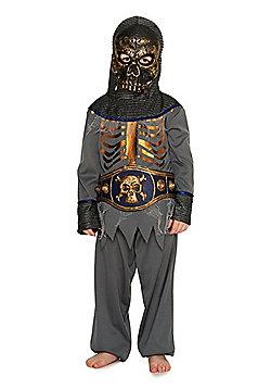 F&F Skeleton Knight Halloween Costume - Grey