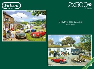 Driving in the Dales - 2x500pc Puzzle