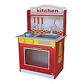 Kiddi Style Large Classic Wooden Kitchen With Accessories