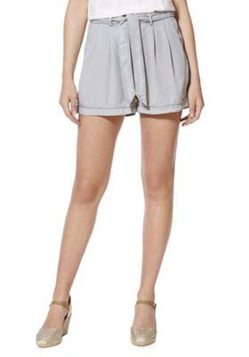 Vero Moda Tencel® Tie Waist Shorts XS Grey