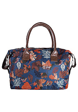 Tesco Sherwood Leaf Print Holdall