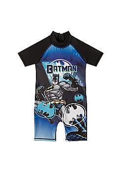 DC Comics Batman Superman Boys Surf Suit - Black