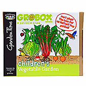 Mr Fothergill's GroBox - Easy-to-Sow Children's Vegetable Garden