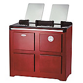 Traditional Farmhouse Cooker - Red