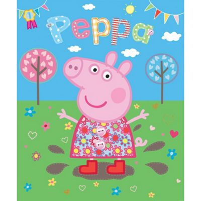Marvelous Peppa Pig Wallpaper Mural 6ft X 8ft Part 22