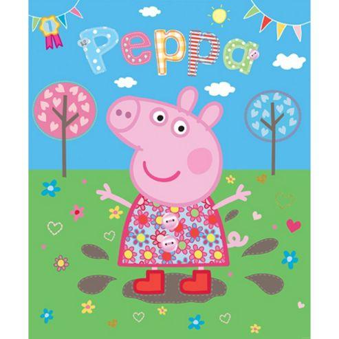 Peppa Pig Wallpaper Mural 6ft x 8ft