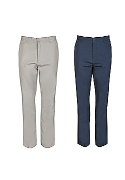 Ciro Citterio Signature Chino Trousers 2 Pack - Multi