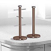 Morphy Richards Accents Mug Tree Towel Pole - Copper