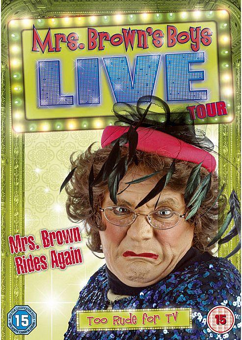 Mrs Brown's Boys Live: Mrs Brown Rides Again (DVD Boxset)