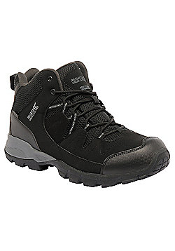 Regatta Mens Holcombe Mid Boot - Black