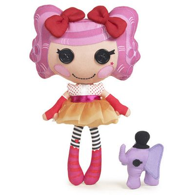 Lalaloopsy Soft Doll - Peanut Big Top