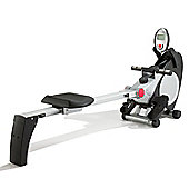 PureFitness & Sports Marcy Rowing Machine with Hand Pulse