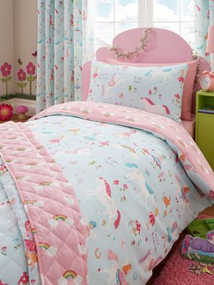 Buy Magical Unicorn 4 In 1 Junior Bedding Bundle Duvet