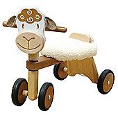 I'M Toy Paddie Rider Lambie, wooden toy