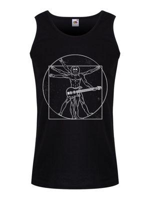 Da Vinci Rocker Men's Vest, Black