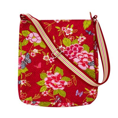 Ulster Weavers Floral Butterfly Messenger Bag