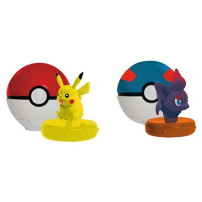 Pokemon Pokeball Twister Figure Battle Set