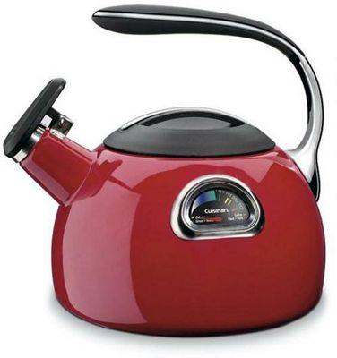 Cuisinart PTK330RU PerfecTemp Tea Kettle - Red