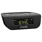 Pure Siesta Mi SII VL-61775 Digital Clock FM Radio - Black