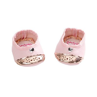 Baby Annabell Shoes - Pink