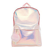 F&F Iridescent Backpack
