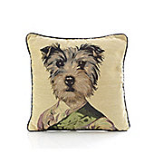 Alan Symonds Tapestry Colonel Cushion Cover - 45x45cm