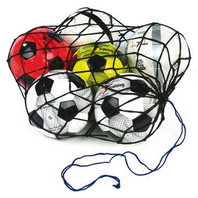 Precision Training 12 Football Balls Nylon Carry Net Bag Training Accessory