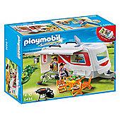 Playmobil 5434 Summer Fun Camping Family Caravan