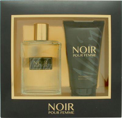 Prism Parfums Noir Pour Femme Gift Set 100ml EDP + 150ml Body Lotion For Women